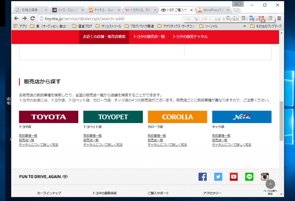 トヨタ販売チャンネル